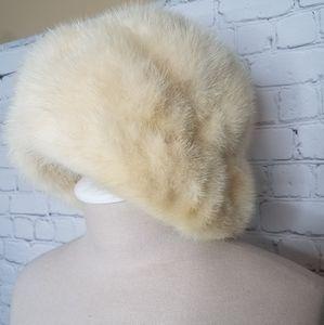 Vintage Mitzi Lorenz London Mink Hat
